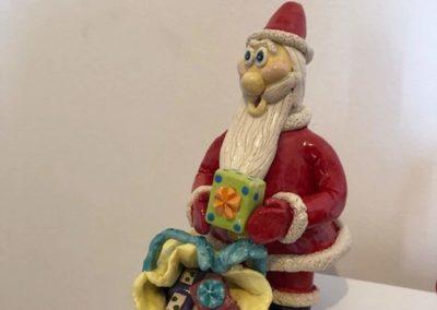 Marlaine Morin - Marlou Père Noël avec cadeaux